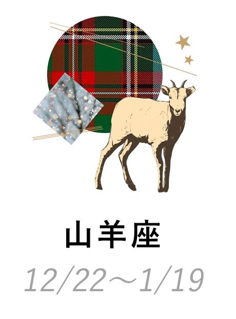 山羊座 12/22〜1/19