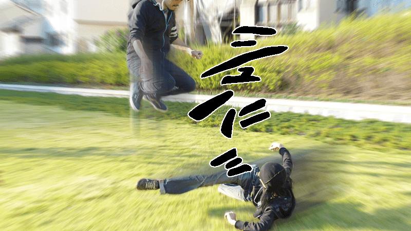 自信満々の蹴りを避けられた時の心境。by Shinnoji
