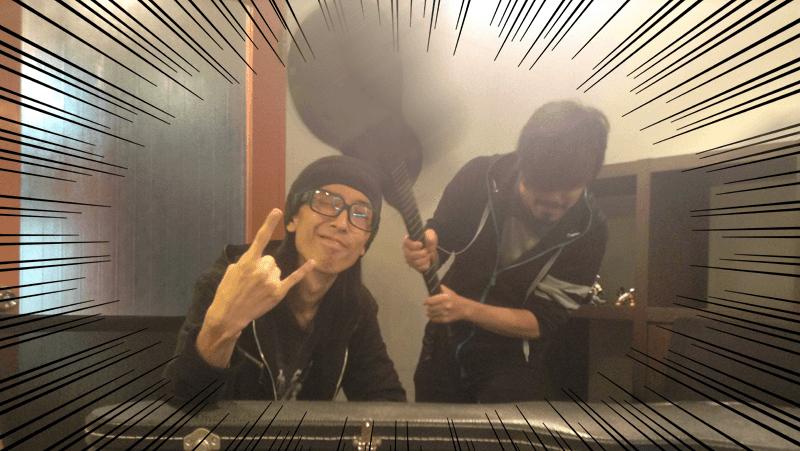 そんな持ち方したらネックがおかしなるやろ!!by Shinnoji