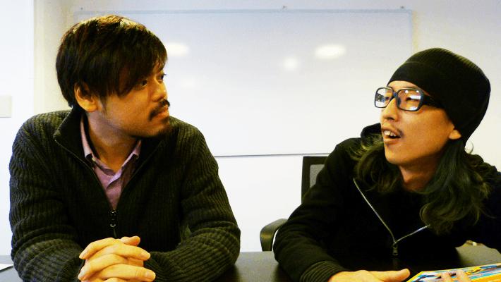 見つめ合うカット撮るのに慣れてきたおっさん二人。by Shinnoji