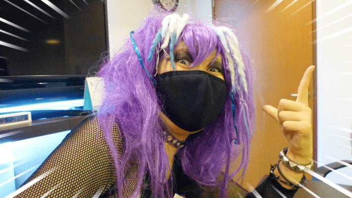 今回紫多すぎぞよ~ by ぺとら