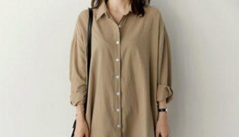 1枚でもキマるシャツワンピが可愛い! 春らしい着こなし方をご紹介します