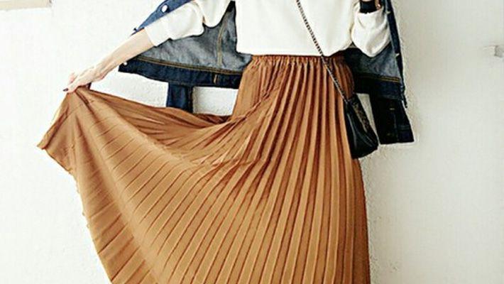 春夏に着こなすプリーツスカートコーデをカラー別にご紹介します!