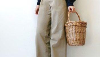 春夏コーデに使える、かごバッグの上手な使い方!