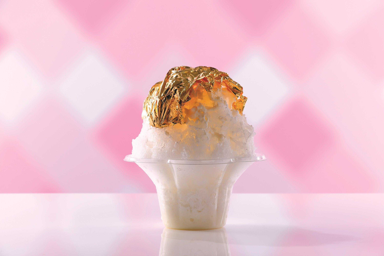 石川:食べる金箔/かき氷甲子園