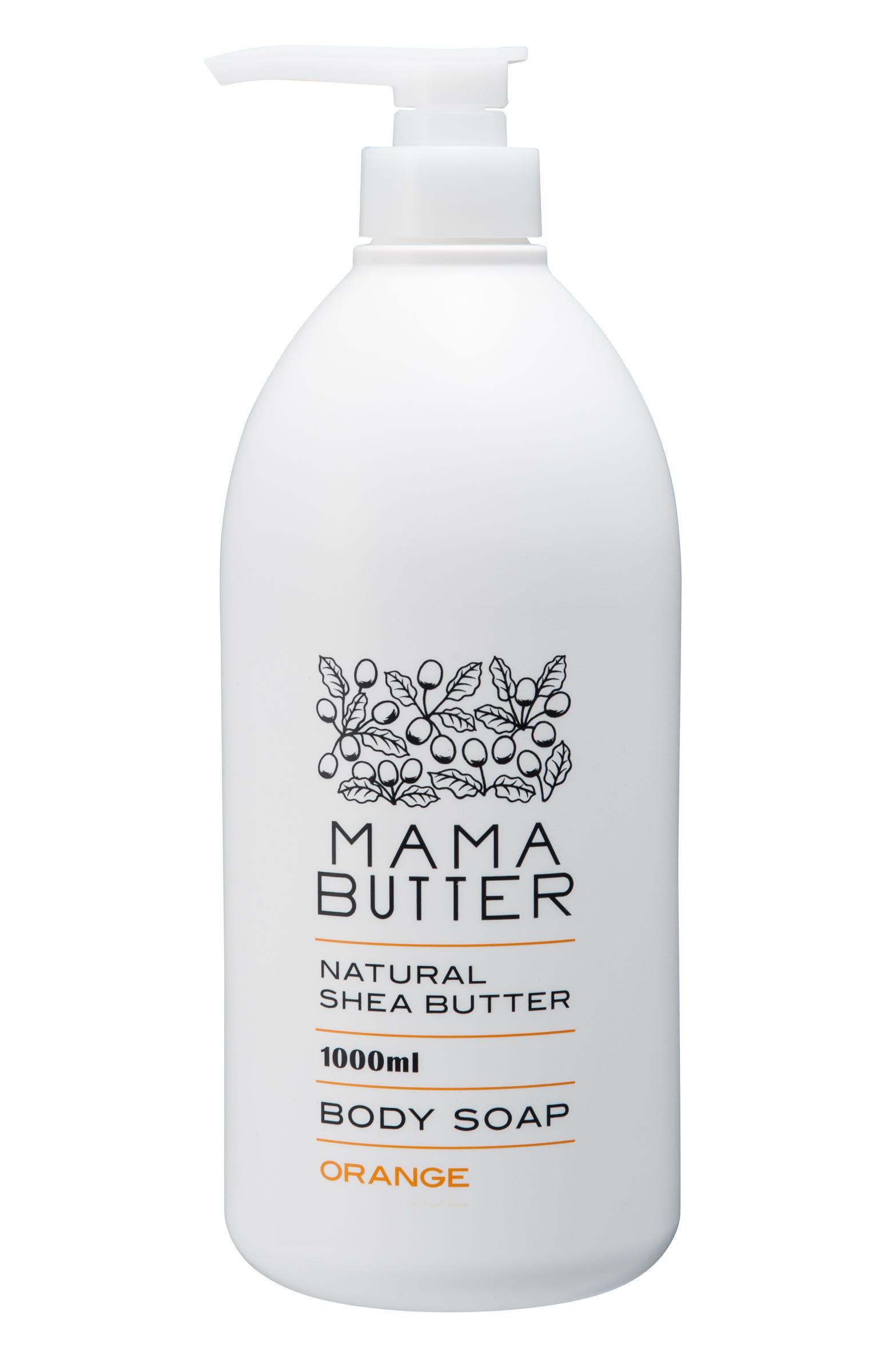 ママバター ボディソープ オレンジ