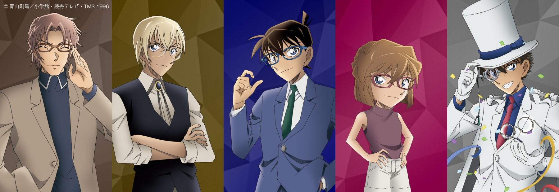 Zoff×名探偵コナンのコラボメガネ全5種、オンラインストアで予約販売!