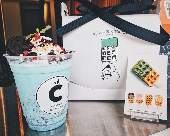 京都の「kyocafe chacha」より2種類のチョコミントを限定発売!