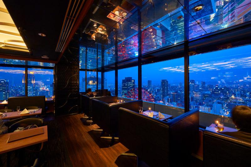 """地上120mパノラマビューのレストラン""""Sdining"""""""