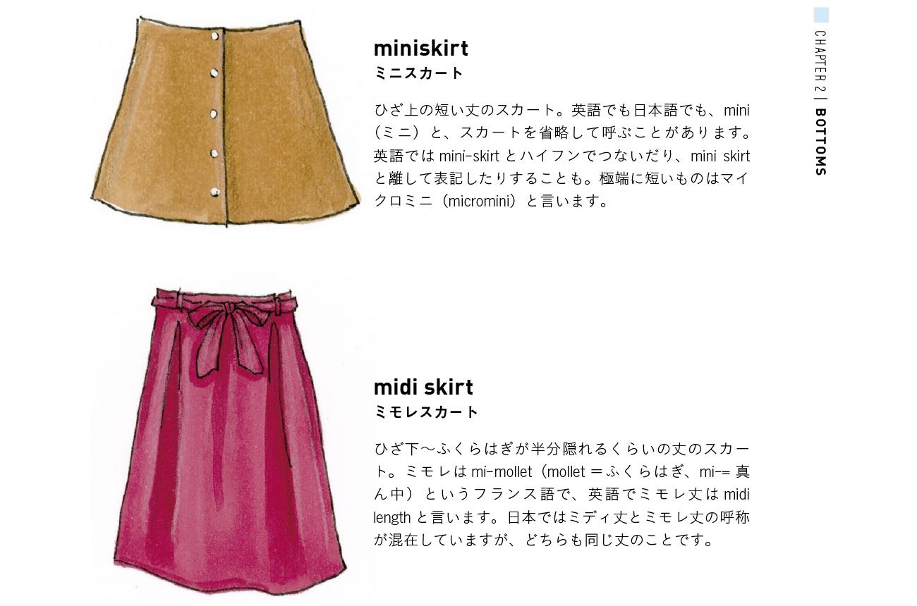 ファッションアイテムの正しい英語名称や定義/おしゃれ英語図鑑