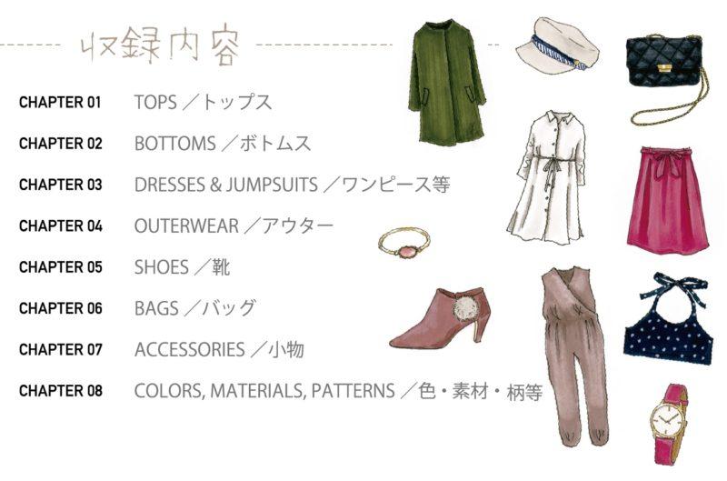 収録内容ページ/おしゃれ英語図鑑