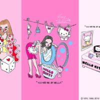 『HELLO KITTY ♥ foxy illustrations』ハローキティ×人気イラストレーターがコラボ!