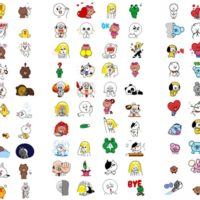 無料で使えるLINEのアニメーションスタンプ、合計120種類が追加!