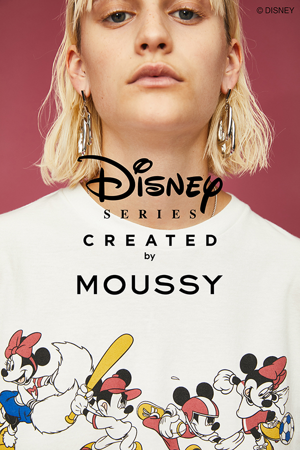 Disney SERIES CREATED by MOUSSY
