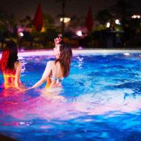 ホテルニューオータニ大阪で人気の「ナイトプール」が7月14日より解禁!
