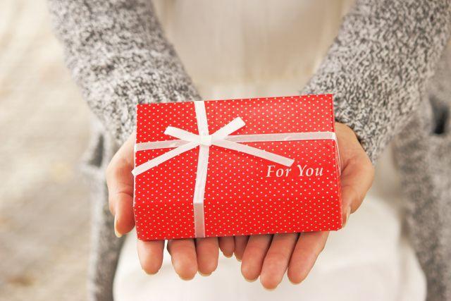 欲しかったものをプレゼント