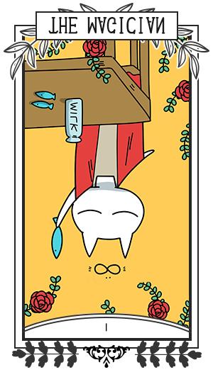 魔術師 / 逆位置 Ⅰ THE MAGICIAN