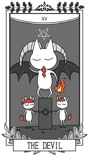 悪魔 / 正位置 XV THE DEVIL