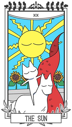 太陽 / 正位置 XIX THE SUN
